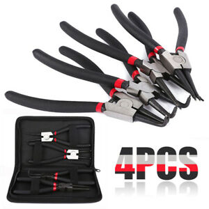 4pcs-Juego-Alicates-de-Clip-Grupillas-Anillos-Seeger-180mm-Herramienta