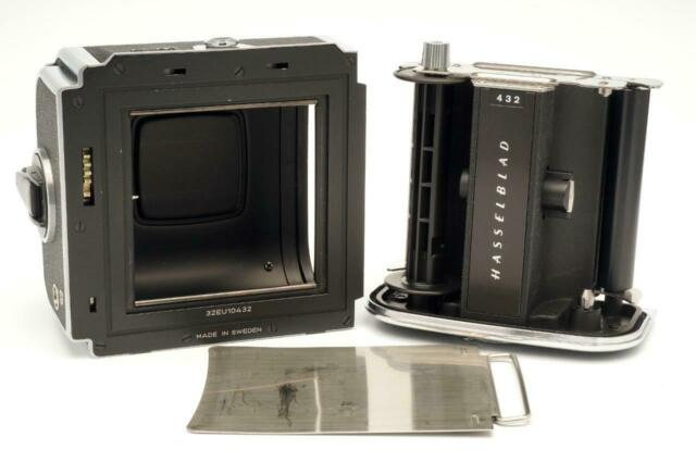 Hasselblad A24-6x6 Chrome Film Back with Dark Slide Holder