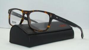 7bf796a148 Hugo Boss 0928 N9P Matte Havana +Org Case Glasses Frames ...