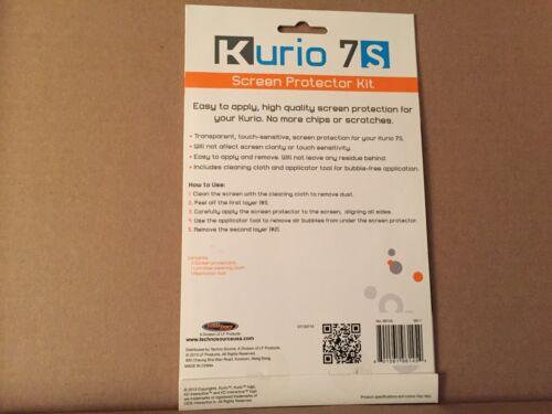 Kurio 7S Screen Protector Kit NEW SEALED