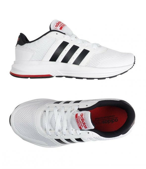 Adidas Cloudfoam Saturn (AW3841) Running Chaussures Athletic Sneakers Bottes Blanc