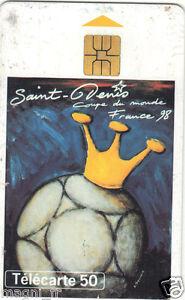 Télécarte - Coupe du monde Football 1998 - St Denis - Stade de France (A2943)