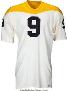 newest 2dc3e 5c35a Details about 1967 John Foruria Game Worn Pittsburgh Steelers