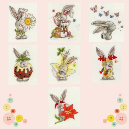 Bothy Threads ~ Counted Cross Stitch Kits ~ Bebunni ~ Bunny Rabbit
