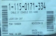 115-0171-299 Raven Cable 3' Console SCS 4400 for sale online ... on
