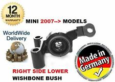 FOR BMW MINI R56 COPPER S DIESEL 2006--  NEW RIGHT SIDE LOWER WISHBONE BUSH