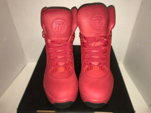 Sumikko Game Changer Red October Suede Boots Men/'s size 9-13