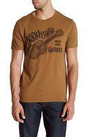 Lucky Brand - - Mens Xxl - Brown Nashville Guitar Cotton T-shirt - Guitars