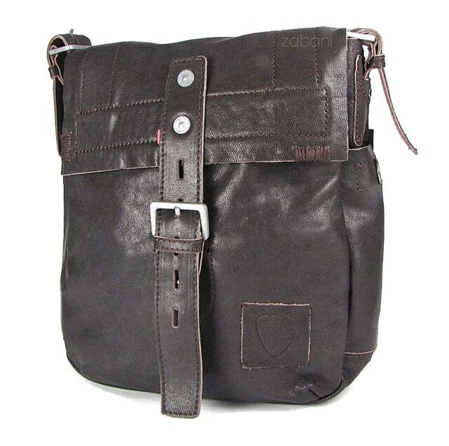 Strellson Men s Messenger Handbag Shoulder Bag Leather Brown for ... d7c9a117bb89a