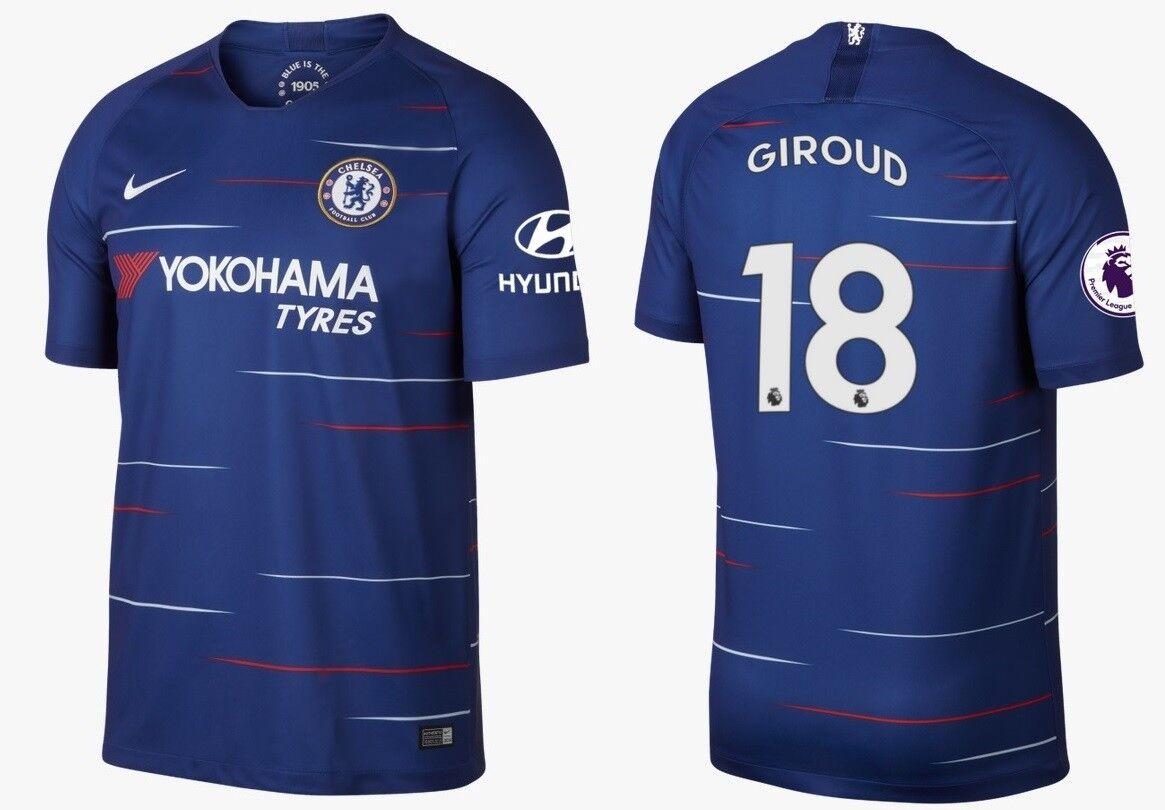 Trikot Nike FC Chelsea 2018-2019 Home - Giroud Giroud Giroud 18  Premier League 0a2a43