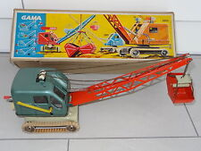 GAMA West Germany CRANE WITH BUCKET - 2808 / 2806 BOXED