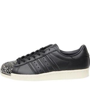 new product cc8b8 27ac5 Caricamento dell immagine in corso Donna-Adidas-Originals-Superstar-80-S- Scarpe-Da-