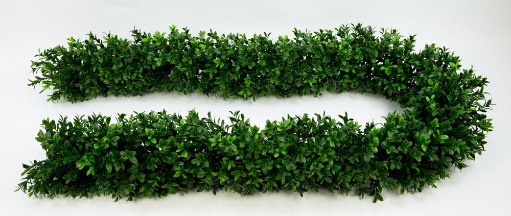 Buchsbaumgirlande 180cm x 14cm GA Kunstpflanzen - Buxgirlande - Buchsgirlande