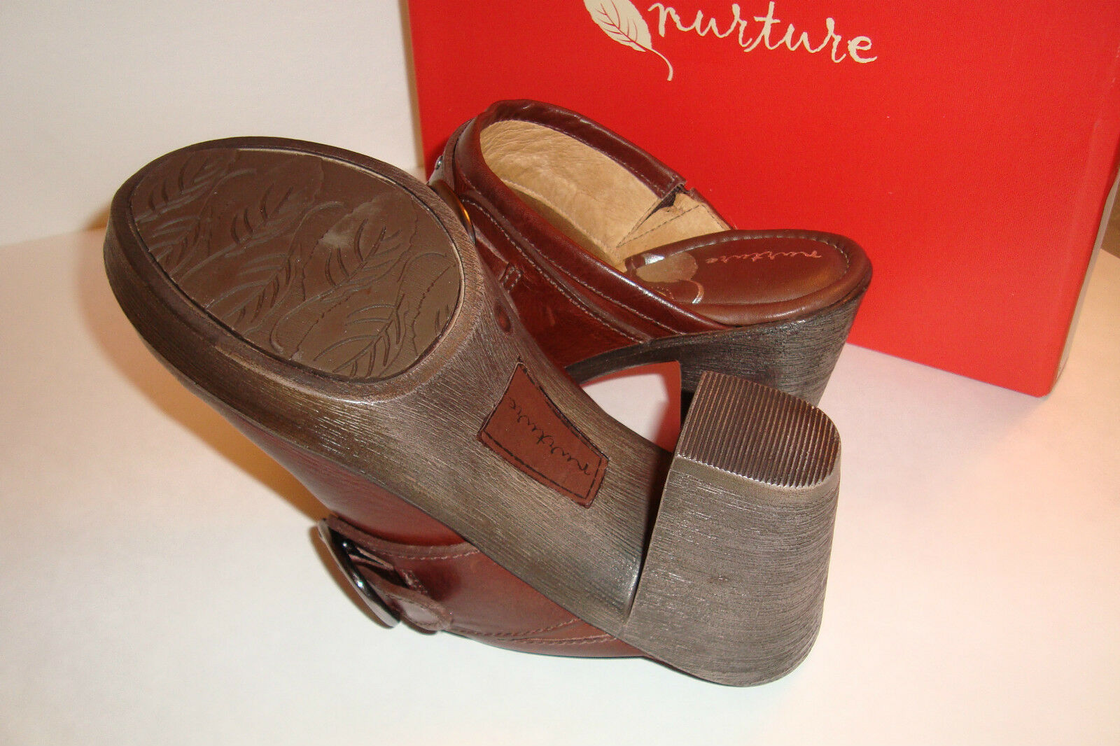 Nurture Donna NWB Prairie 211 Woodberry 6.5 Brown Clogs Shoes Size 6.5 Woodberry MED NEW 81d90f