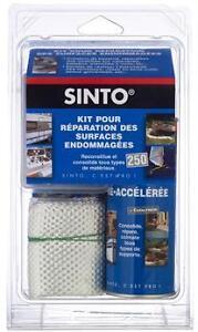Kit 500 Reparation Bateau Resine Polyester Tissu Durcisseur Sinto