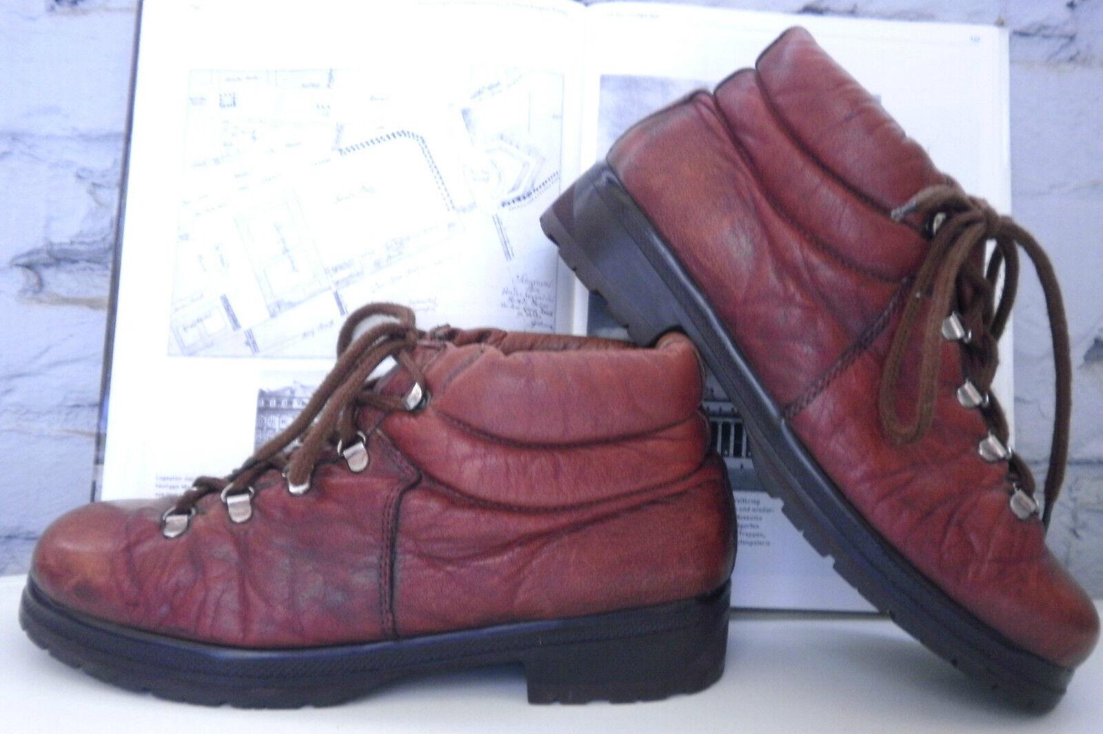 Schnürschuhe Boots Wilhelm Jordan Germany TRUE VINTAGE Wandern Trekking  Schuhe