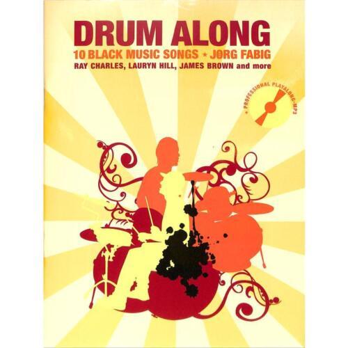 10 Black Music Songs Drum Along VI Musiknoten Schlagzeug Noten