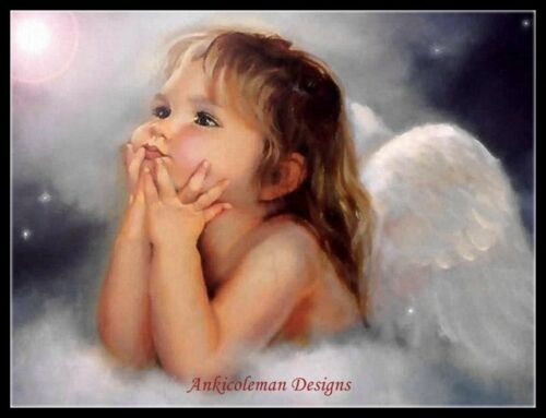 Counted Cross Stitch Kits Chart Needlework Crafts DIY Little Angels 24