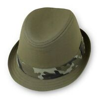 NWT Children's Place Baby Toddler Boy Camo Fedora Hat 6-12-24 Months 2T 3T 4T