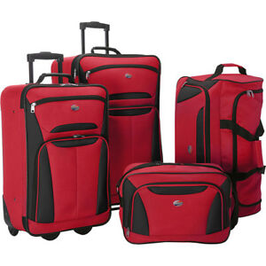 American-Tourister-Fieldbrook-II-4-Piece-Nested-Luggage-Luggage-Set-NEW