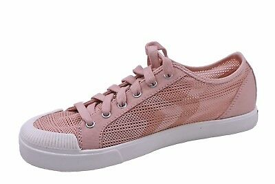 Scholl's Blush Pink Mesh Lace Up Sneakers-new-chevron-shoes Women's Shoes Modest Women's Size 9.5 Dr