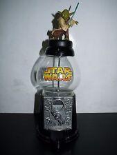 "STAR WARS YODA Gumball CANDY TREAT Dispenser 12"""