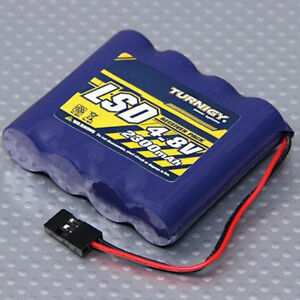 Turnigy-Low-Self-Discharge-RC-Receiver-Battery-Flat-Pack-4-8V-2300mAh-NiMh