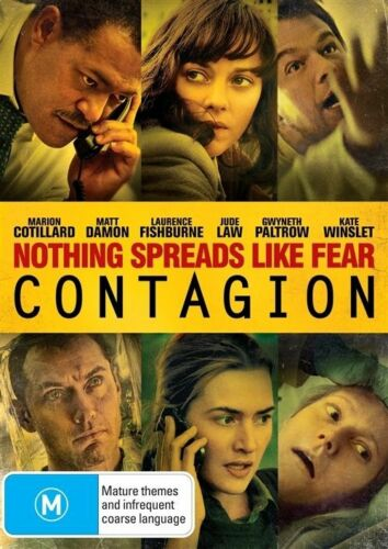 1 of 1 - Contagion (DVD, 2012) R4 PAL NEW FREE POST
