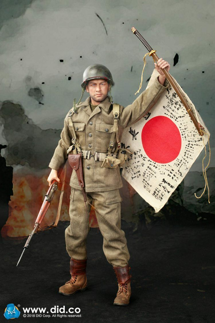 DID  1 6 A80129 1 6 US Army 77th Infantry Division Captain Sam azione cifra  punti vendita