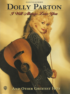 DOLLY-PARTON-Piano-Vocal-Guitar-Sheet-Music-Book-Songbook-10-Songs-Shop-Soiled