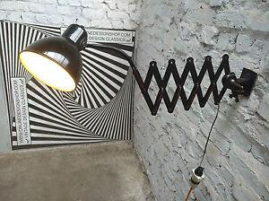 ERPE-SCISSORS-INDUSTRIAL-MODERNIST-WALL-LAMP-LAMPE-MURAL-BAUHAUS-ERA-1920-30s