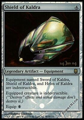 Artifact Prerelease Mtg Magic Rare 4x x4 4 PROMO FOIL Helm of Kaldra