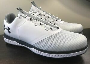 Fade RST Golf Shoes White/Steel/Black