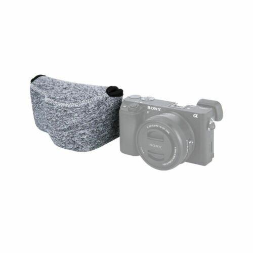 DMC-LX100 JJC OC-S1BG Gris Mirrorless Cámara Bolsa Para Sony A6500 A6300 X30 XT20