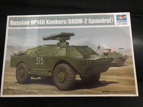 Trumpeter 1//35 Russian 9P148 Konkurs BRDM-2 Spandrel 05515 1:35 Model Kit