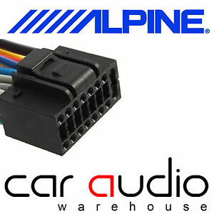 autoleads pc3 462 alpine 16 pin iso car stereo radio wiring image is loading autoleads pc3 462 alpine 16 pin iso car