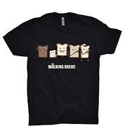 The Walking Dead T Shirt Funny Bread Parody Zombie Gleen Rick Daryl Dixon Blood
