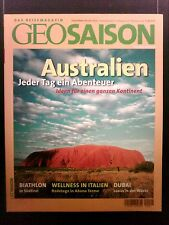 Reisemagazin  GEO Saison  Dezember/Januar 2005 Australien