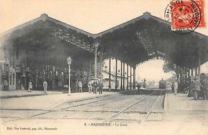 CPA-47-MARMANDE-LA-GARE