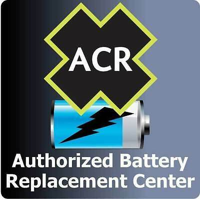 ACR FBRS 2880 /& 2881 BATTERY REPLACEMENT SERVICE