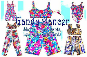 Gandy-Dancer-Gear-1-Bike-Shorts-Tops-Unitards-XS-XL