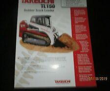 Takeuchi Tl 150 Rubber Track Loader Brochure Factory Original 2004