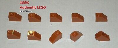 Roof Brick 1x2 45° Slope new New Dark Orange 4 X LEGO 3040 Brick Gradient
