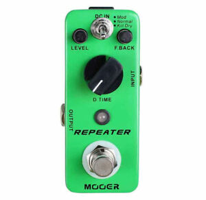 Mooer-Repeater-Digital-Delay-Micro-Guitar-Effects-Pedal-25-to-1000ms-True-Bypass