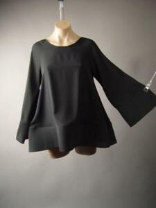 Avant-Garde-Wiccan-Witch-Gothic-Statement-Sleeve-Swing-Top-247-mv-Blouse-S-M-L