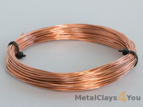 Unplated Copper Round Wire 0.4mm to 5.0mm