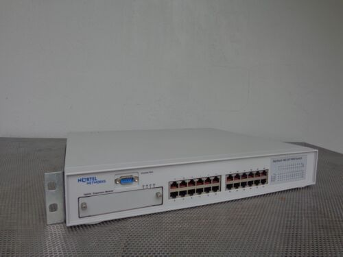 Nortel Networks BayStack 460-24T-PWR 24-Port Gb Network Switch BS460 213314-AR09