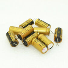 10pcs Nichicon FW 47mfd 63V 47UF audio electrolytic capacitor 6X11mm 85℃