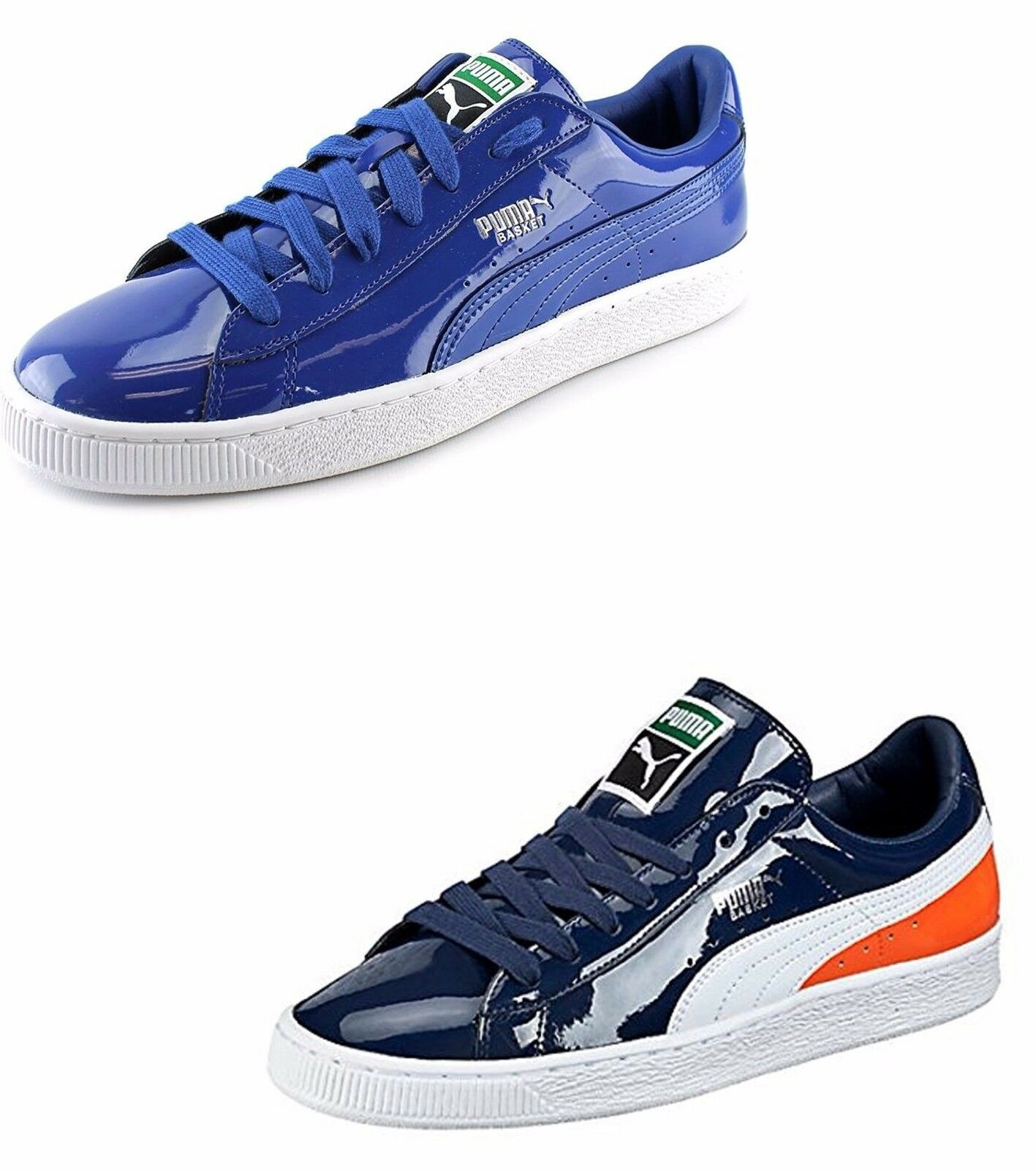 PUMA Homme Basket Matte & Shine Sneaker