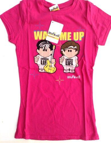 Femmes Ex Boutique WEENICONS T shirts ou pyjama Tops WHAM Choisir la vie